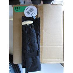 Case of 12 New Black Umbrellas