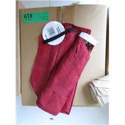 Case of 12 New Red Umbrellas