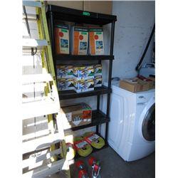5 Tier Plastic Utility Shelf