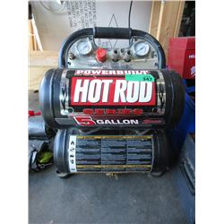 "Powerbuilt ""Hotrod"" 5 Gallon Air Compressor"