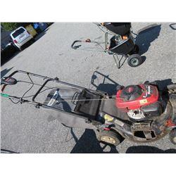 Gas Powered Honda Lawn Mower with Grass Catcher