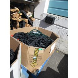 Skid of Assorted Store Return Garden Hoses