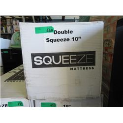"""New 10"""" Double Size Squeeze Mattress"""