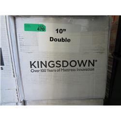 "New 10"" Double Size Kingsdown Mattress"