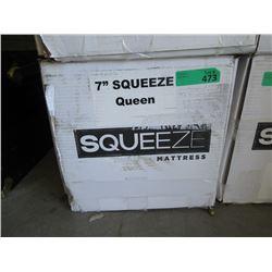 """New 7"""" Queen Size Squeeze Mattress"""