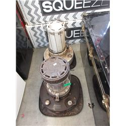 2 Large Kerosene Heaters