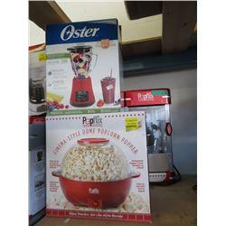 Blender & 2 Popcorn Makers - Store Returns