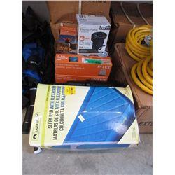 Sleep Pad, Inflatable Mattresses & Pumps