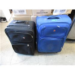2 Large Pieces of Rolling Luggage