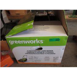 "Greenworks 14"" Electric Lawnmower"