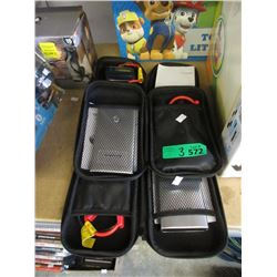 3 Back Up Batteries with Jumper Cables