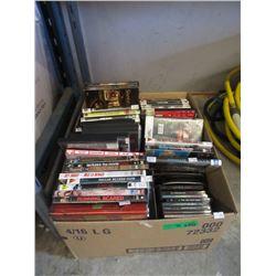 40+ DVDs & Music CDs