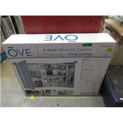 Ove 2 Door Medicine Cabinet - Store Return