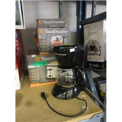 4 Toastmaster Small Kitchen Appliances