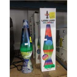 """Five 14.5"""" Lava Lamps"""