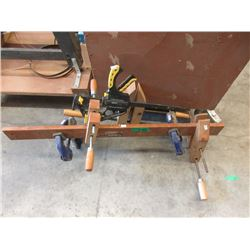 6 Assorted Clamps