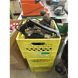3 Crates of Assorted Tools