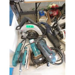 5 Assorted Electric Tools