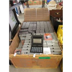 Large Case of New Calculator Clocks