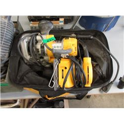 DeWalt Electric Router & Palm Sander