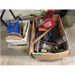 2 Boxes of Assorted Tools