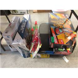 7 Assorted Toys & Games