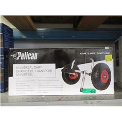 Pelican Universal Kayak/Canoe Cart - Store Return