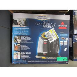 Bissell Spot Clean Pro Heat - Store Return