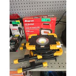 1 Snap On & 2 CAT Work Lights - Store Returns