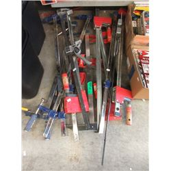 """14 Assorted 30"""" Clamps"""