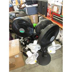 & Assorted Electric Fans - Store Returns
