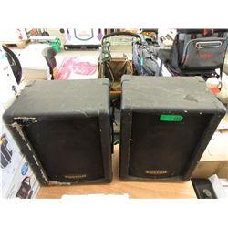 2 Kustom Speakers