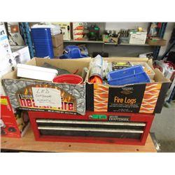 Craftsman Tool Drawer & 2 Boxes of Tools