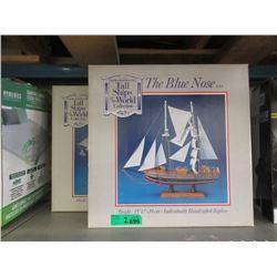 2 Ship Models - Blue Nose & HMS Victory