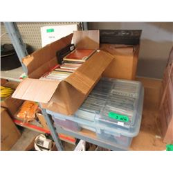 3 Containers of Music CDs & Vintage LPs