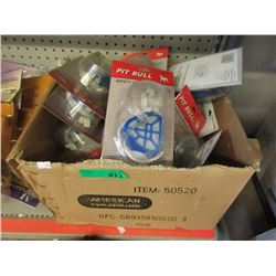 Case of New Safety Goggle & Dust Masks Sets