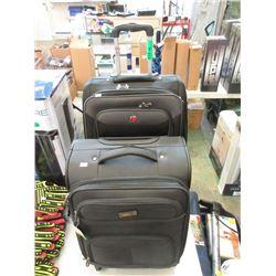 Small Via & Medium Swiss Gear Rolling Luggage