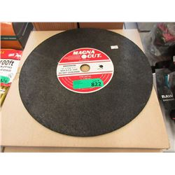 """Case of 10 New 14"""" Grinding Wheels For Metal"""