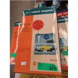 """New 4 1/2"""" Electric Angle Grinder"""