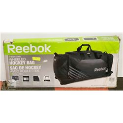 REEBOK WHEELED HOCKEY BAG IN BOX
