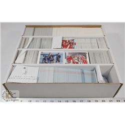 BOX OF HOCKEY CARDS, UPPER DECK, OPC, STADIUM CLUB