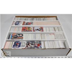 BOX OF HOCKEY CARDS, MISC BRANDS AND YEARS