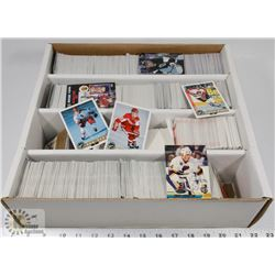 BOX OF HOCKEY CARDS, PINNACLE, STADIUM CLUB,