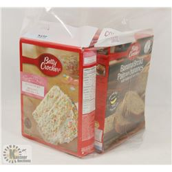 BAG OF BETTY CROCKER BAKING MIXES