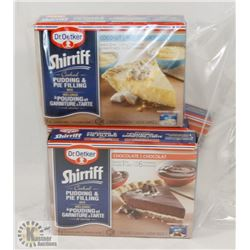 BAG OF SHERRIFF PUDDING AND PIE FILLING