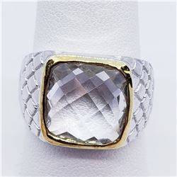 MEN'S CRYSTAL RING SIZE 10