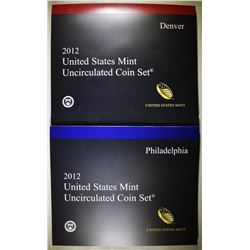 2012 MINT SET IN ORIGINAL PACKAGING