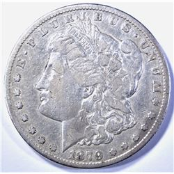 1879-CC MORGAN DOLLAR   VF/XF