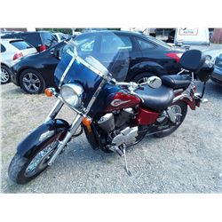 0C --   2003 HONDA SHADOW AMERICAN CLASSIC EDITION , Red , 40025  KM's