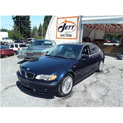 B4 --  2003 BMW 330I  , Blue , 176525  KM's